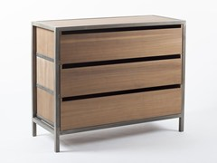 - Wooden chest of drawers VANEAU | Chest of drawers - Alex de Rouvray design