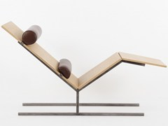 CHAISE LONGUE IN DERIVATI DEL LEGNO VANEAU | CHAISE LONGUE - ALEX DE ROUVRAY DESIGN
