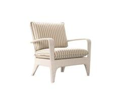 - Upholstered garden armchair with armrests VANITY | Garden armchair - Atmosphera