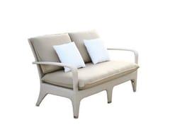 - Upholstered 2 seater garden sofa VANITY | Sofa - Atmosphera