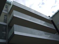- Glass and aluminium Window railing VECCHIA DARSENA - ALUSCALAE