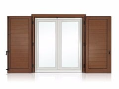 - Panel shutter VELA with horizontal slats - Cos.Met. F.lli Rubolino