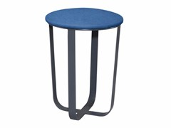 - Fabric stool VELASCO - AZEA