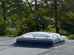 Finestra da tetto in policarbonato Finestra per tetti piani con cupola -