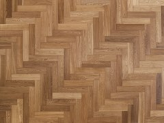 Parquet in legno massello spazzolato in Rovere EuropeoVENARIA | Parquet in legno massello - ALMA BY GIORIO