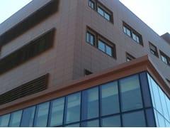 Sistema per facciata ventilata con aggancio a vistaVENERE - DALLERA TECNOLOGIE