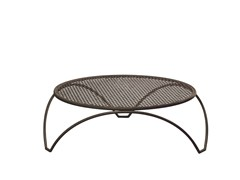 - Low round steel garden side table VERA | Low coffee table - EMU Group S.p.A.