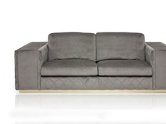- Upholstered 2 seater velvet sofa VERONA | 2 seater sofa - Formitalia Group