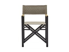 - Teak garden chair with armrests VICTOR | Chair with armrests - Varaschin