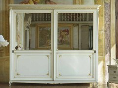 - Wooden wardrobe with drawers VILLA | Wardrobe with sliding doors - Arvestyle