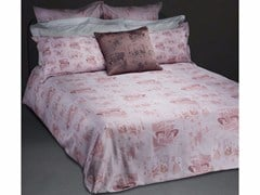 - Cotton bedding set VILLE D'AMOUR QUEEN SET - sans tabù