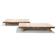 Tavolino basso in teakVIS À VIS SOFA | Tavolino da giardino - TRIBÙ