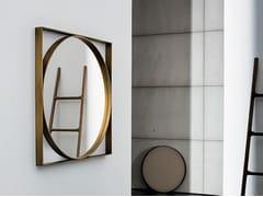 - Specchio quadrato a parete VISUAL GEOMETRIC - SOVET ITALIA