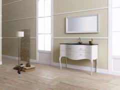 - MDF vanity unit with drawers with mirror VIVALDI FLORES 02 - Fiora