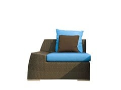 - Upholstered garden armchair VOGUE SX - Atmosphera