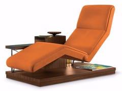 Chaise longue in nabukVOLARE - MASCHERONI