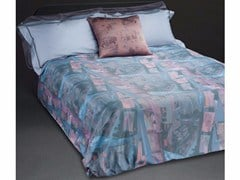 - Cotton bedding set VOYAGER QUEEN SET - sans tabù