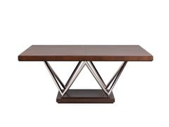 - Square dining table WALDORF | Wooden table - SELVA