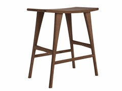 - Walnut stool WALNUT OSSO | Stool - Ethnicraft