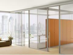 Parete mobile in vetro per ufficioWATS - ARCHIUTTI