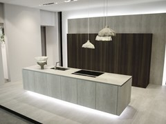 - Ceramic kitchen with island WAY | Ceramic kitchen - Snaidero