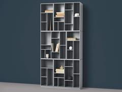 Libreria laccata modulareWEAVE - MONTANA MØBLER