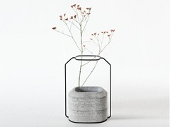 - Cement vase WEIGHT VASE B - Specimen Editions