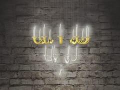 Lampada a sospensione a LED fatta a mano con dimmerWERSAILLES OR - BEAU & BIEN