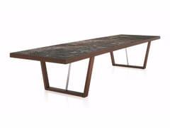 - Extending rectangular wooden table WHERE | Rectangular table - MOLTENI & C.