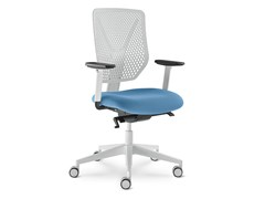 - Height-adjustable task chair with 5-Spoke base with casters WHY 321-SYS - LD Seating