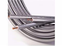 Tubo di rame preisolato antiUV per impianto condizionamentoSMISOL® Clim Platinum - SERRAVALLE COPPER TUBES
