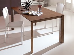 - Extending solid wood dining table WING LEGNO - Ozzio Italia