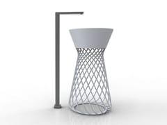 - Round ceramic washbasin WIRE | Freestanding washbasin - Hidra Ceramica