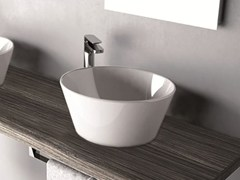 - Countertop round washbasin WIRE | Washbasin - Hidra Ceramica
