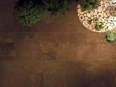 Pavimento/rivestimento effetto metalloACIDIC WOOD - CERAMICA FONDOVALLE