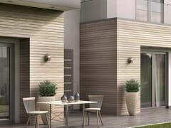 Rivestimento in legno per esterniWOODEE | Pannello in legno per facciate - ALUMIL