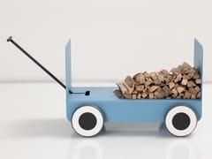 Portalegna in acciaioWOODY | Portalegna - CAR-MET