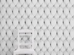 - Wallpaper WHITE CHESTERFIELD BUTTON BACK - Mineheart