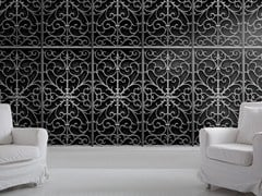 - Motif wallpaper WROUGHT METAL GATE - Mineheart