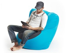 - Microfiber armchair / pouf X-FIVE - XPOUF by EXPAND HOME DESIGN