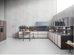 - Cucina componibile lineare senza maniglie XP/03 - Zampieri Cucine