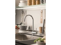 - Countertop 1 hole kitchen mixer tap with swivel spout XT KITCHEN | Kitchen mixer tap - NEWFORM