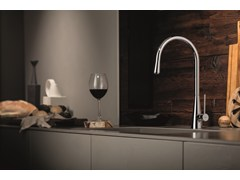 - Countertop 1 hole kitchen mixer tap Y-CON | Kitchen mixer tap - NEWFORM