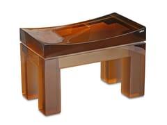 Sgabello per bagno in resinaYES SMALL | Sgabello per bagno - VALLVÉ - SHOWROOM & BRAND STORE