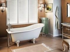 - Freestanding bathtub on legs YORK SLIPPER 1700 - Polo