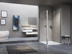 - Shower cabin with folding door YOUNG 2.0 1BS+F1B - NOVELLINI