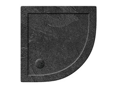 - Corner acrylic shower tray T-FORMAT   Corner shower tray - Polo