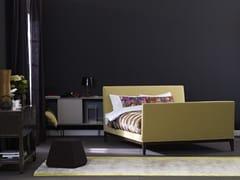- Upholstered bed with high headboard ZARA 1 - Schramm Werkstätten