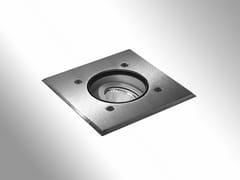 SEGNAPASSO A LED A PAVIMENTO IN ACCIAIO INOXZAXOR LED-O - BEL-LIGHTING