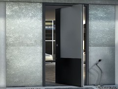 - Metal pivot sliding door ZEN PIVOT BASE - Interno Doors